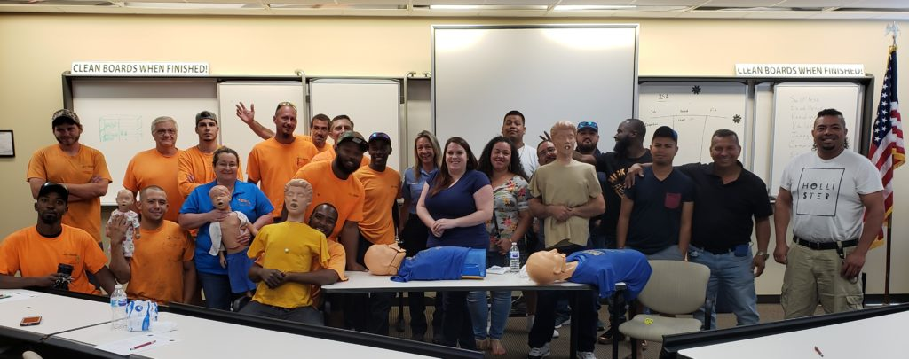 One of our CPR Training Classes