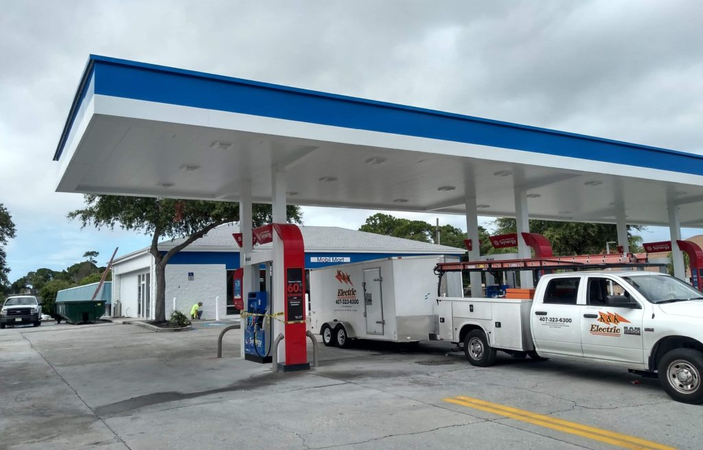 Gas Canopy at Rally in Seminole, FL