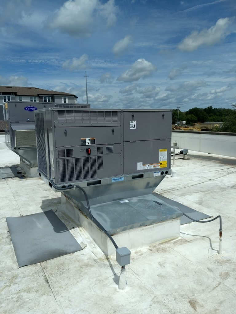 Electrical for HVAC Rooftop Unit