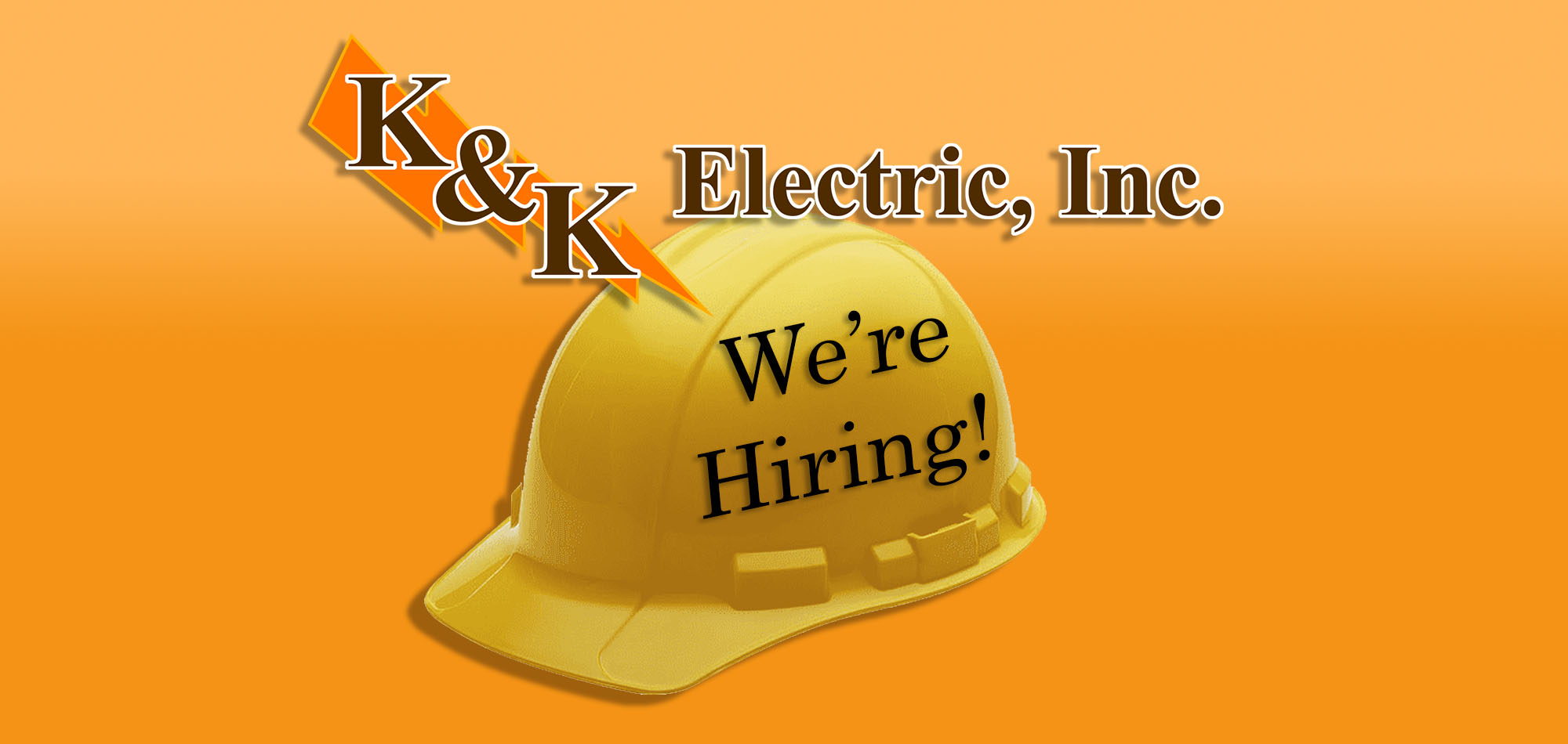 K&K Electric, Inc. - We're Hiring!